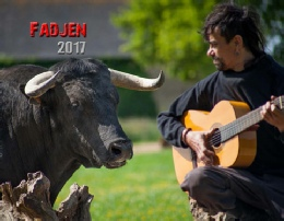Calendrier vaches bovins 2017 - association anticorrida Fadjen